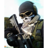 Kép 3/4 - Koponyás maszk fehér-Katica Online Piac