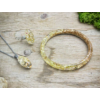 Kép 2/4 -  Ragyogás nyaklánc karperec és gyűrű műgyanta szett-Katica Online Piac