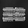 Kép 7/7 - MESSAGE BOARD betű tábla 45x30cm fekete-Katica Online Piac