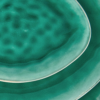 Kép 3/4 - DE LA ROYA tálaló tál 33,5x29cm sötét zöld-Katica Online Piac