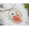 Kép 1/4 - Margarétával álmodok műgyanta nyaklánc-Katica Online Piac