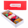 Kép 1/3 - Dressa kárómintás női pamut zokni díszdobozban - 5 pár-Katica Online Piac