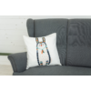 Kép 2/3 - TRIBAL Díszpárna töltve nyúl mintával 50*50 cm-Katica Online Piac