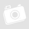 Kép 4/4 - JÉGVARÁZS mintás voile készfüggöny ólomzsinórral, ráncolóval és füles bújtatóval 140*245 cm-Katica Online Piac