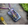 Kép 2/4 - Provence-i nyár műgyanta nyaklánc-Katica Online Piac