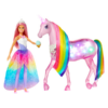 Kép 1/3 - Barbie Dreamtopia csillámfény unikornis babával-Katica Online Piac