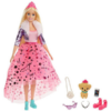 Kép 1/4 - Barbie: Hercegnő kaland - Szőke hajú baba kiskutyával-Katica Online Piac