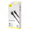 Kép 4/4 - Baseus Silica USB-C adat/töltő kábel 3A 1m - Fekete-Katica Online Piac
