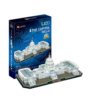 Kép 2/2 - 3D puzzle Capitolium domb világító 150 db-os CubicFun-Katica Online Piac
