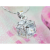 Kép 7/7 - Swarovski kristályos nyaklánc Gömb-Katica Online Piac