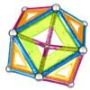 Kép 5/7 - Geomag panel csillogós 44db-Katica Online Piac
