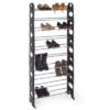 Kép 1/3 - 10 soros cipőtároló- fekete-Katica Online Piac
