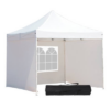 Kép 1/2 - Kerti pavilon, összecsukható 3 fallal és hordtáskával 2,9 x 2,9 m - fehér-Katica Online Piac