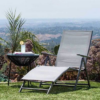 Kép 2/6 - Comfort napozóágy, dönthető és állítható-Katica Online Piac