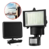 Kép 1/6 - Mozgásérzékelős, napelemes reflektor, 60 LED-Katica Online Piac