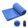 Kép 4/5 - Csúszásgátlós jógatörölköző ajándék táskával - kék-Katica Online Piac
