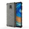 Kép 3/6 - Hibrid Xiaomi Redmi Note 9 Pro fekete ütésálló tok +üvegfólia-Katica Online Piac