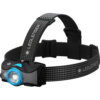 Kép 1/5 - LEDLENSER MH7 outdoor tölthető LED fejlámpa 600lm/200m 1xLi-ion, fekete/kék-Katica Online Piac