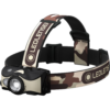 Kép 2/5 -  LEDLENSER MH8 outdoor tölthető LED fejlámpa 600lm/200m, RGB, 1xLi-ion, terepmintás-Katica Online Piac