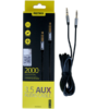 Kép 1/3 - 3.5mm Aux kábel RM-L200 Remax - Fekete-Katica Online Piac