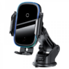 Kép 5/6 - Baseus Smart elektromos autós telefontartó és vezeték nélküli töltő Szélvédőre és szellőzőrácsra (15W) - Fekete-Katica Online Piac