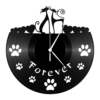Kép 4/5 - Bakelit óra - Macskapár-Katica Online Piac