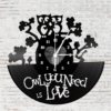 Kép 1/5 - Bakelit óra - Owl you need is love-Katica Online Piac