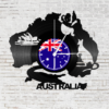 Kép 1/5 - Bakelit óra - Ausztrália-Katica Online Piac