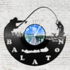Kép 2/5 - Bakelit óra - Balatoni horgász-Katica Online Piac