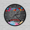 Kép 1/5 - Legendás születésnapi óra 80-Katica Online Piac
