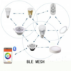 Kép 6/6 - RGB-CCT LED panel - 12W -süllyesztett -négyzet -dimmelhető -Bluetooth - LEDISSIMO SMART-Katica Online Piac