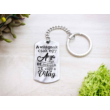 A világnak csak egy anya vagy acél medálos kulcstartó-Katica Online Piac