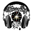 Bakelit óra - Music is my life-Katica Online Piac
