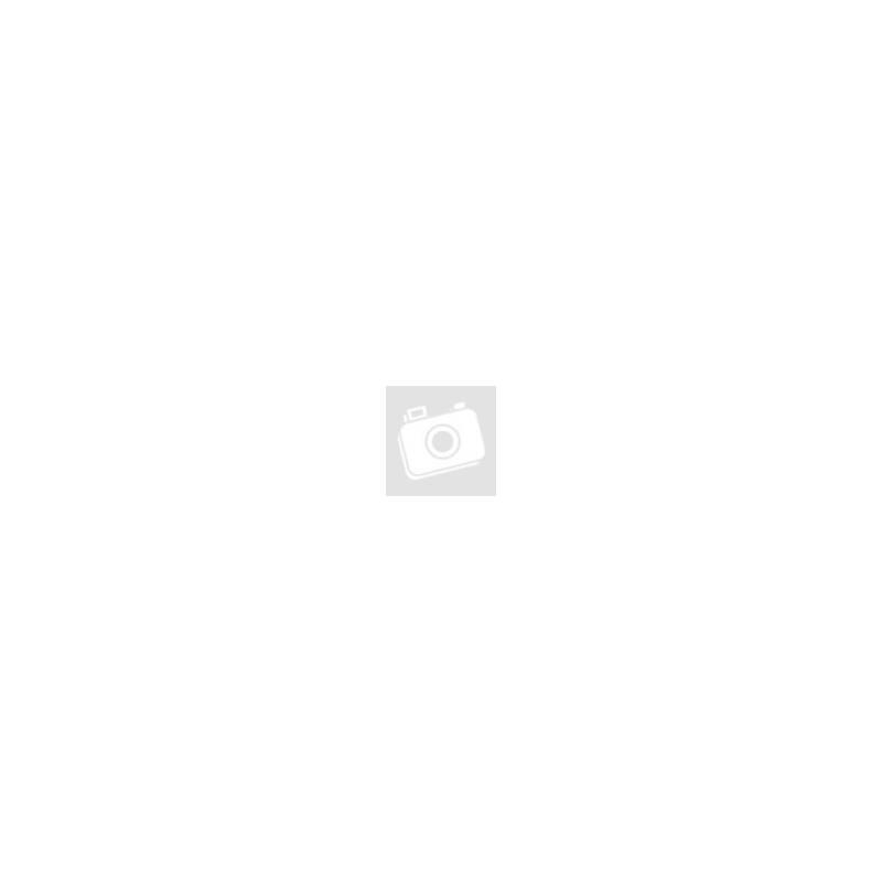Dressa mini hátizsák fém cipzárral - fekete-arany-Katica Online Piac