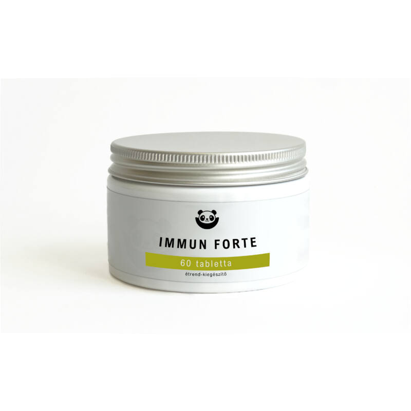 Panda Nutrition - Immun Forte (60 tabletta)-Katica Online Piac