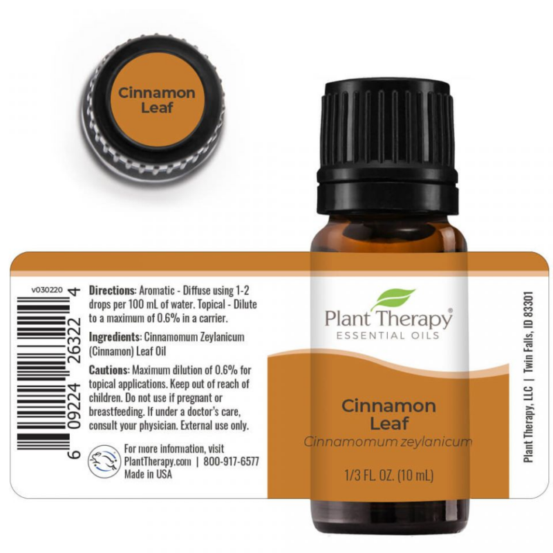Cinnamon Leaf - Fahéjlevél illóolaj-Katica Online Piac