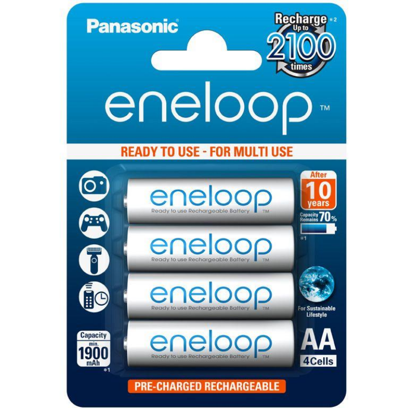 eneloop BK-3MCCE/4BE AA 1900mAh Ni-MH akkumulátor-Katica Online Piac