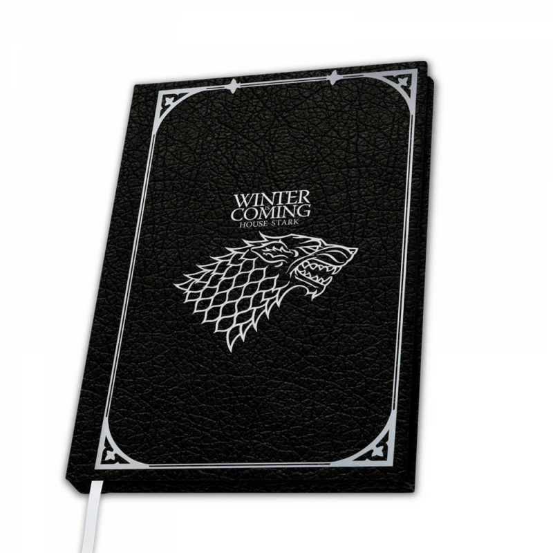 "GAME OF THRONES - Prémium A5 jegyzetfüzet ""Stark""-Katica Online Piac"