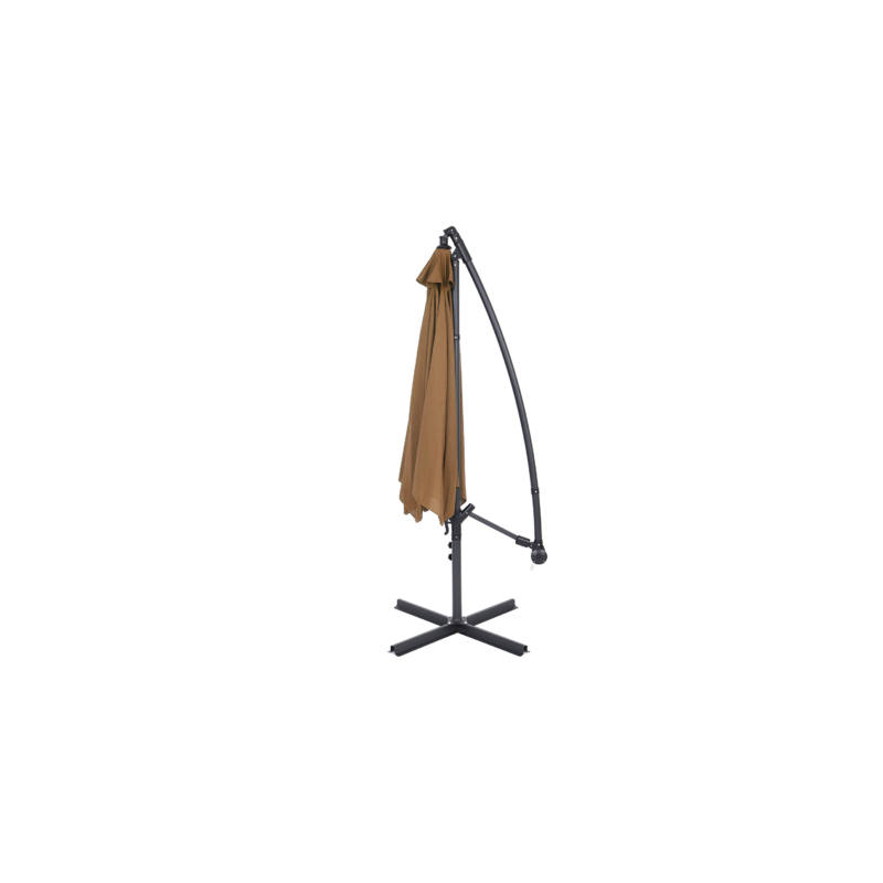 Függő napernyő, 2,7m, kheki-Katica Online Piac