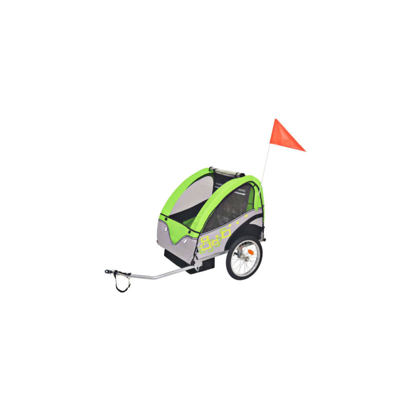 Kerékpár utánfutó gyerekeknek, 30 kg teherbírás-Katica Online Piac