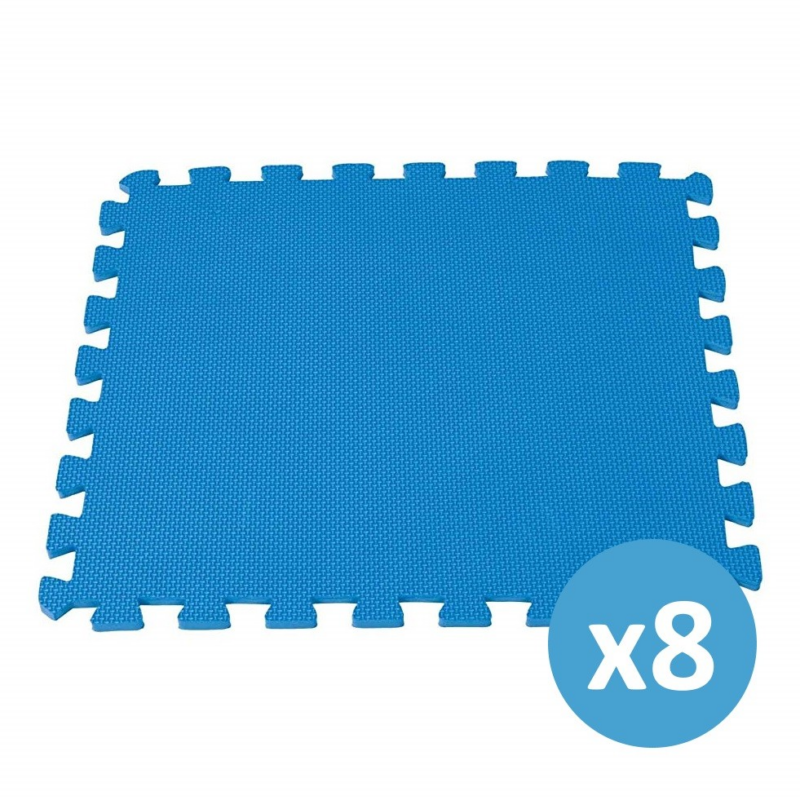 INTEX medence szőnyeg 2 m2/csomag , kék (29081)