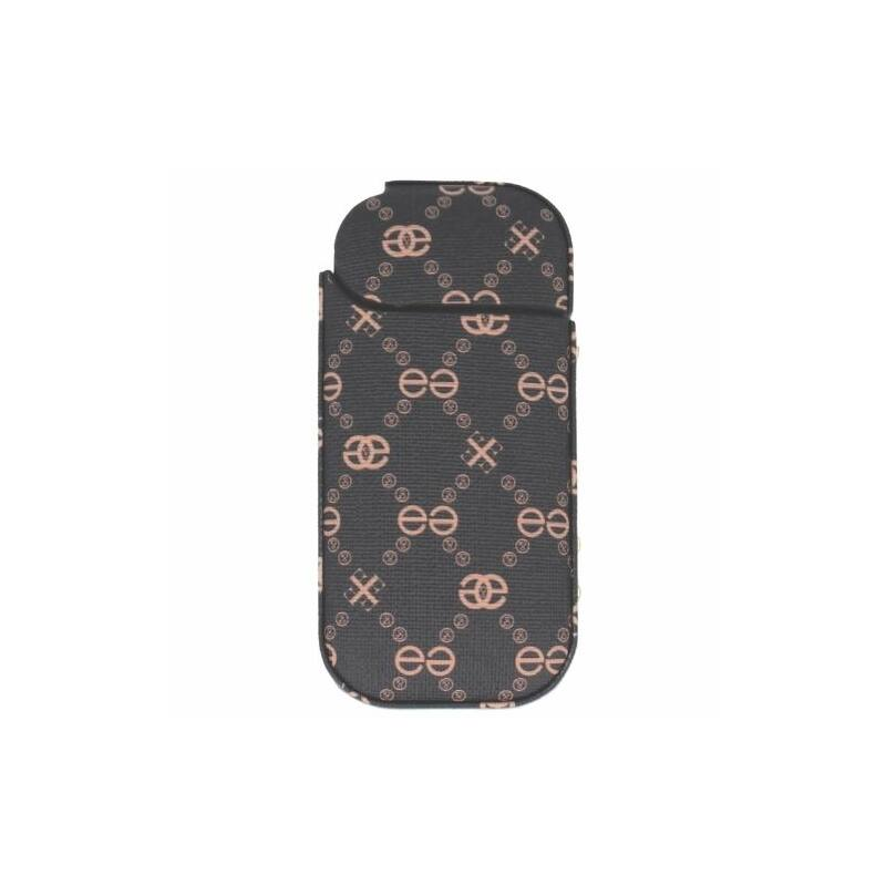 IQOS 2.4 bőr tok (barna x)-Katica Online Piac
