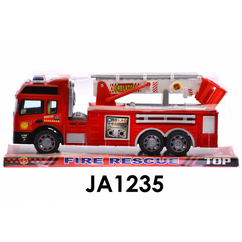 Tűzoltó autó-létrás-lendkerekes-Katica Online Piac