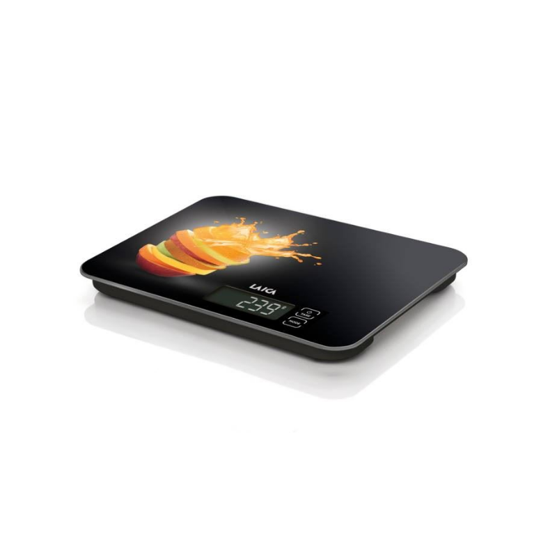"LAICA digitális konyhai mérleg ""narancs"" 15 kg / 1 g-Katica Online Piac"