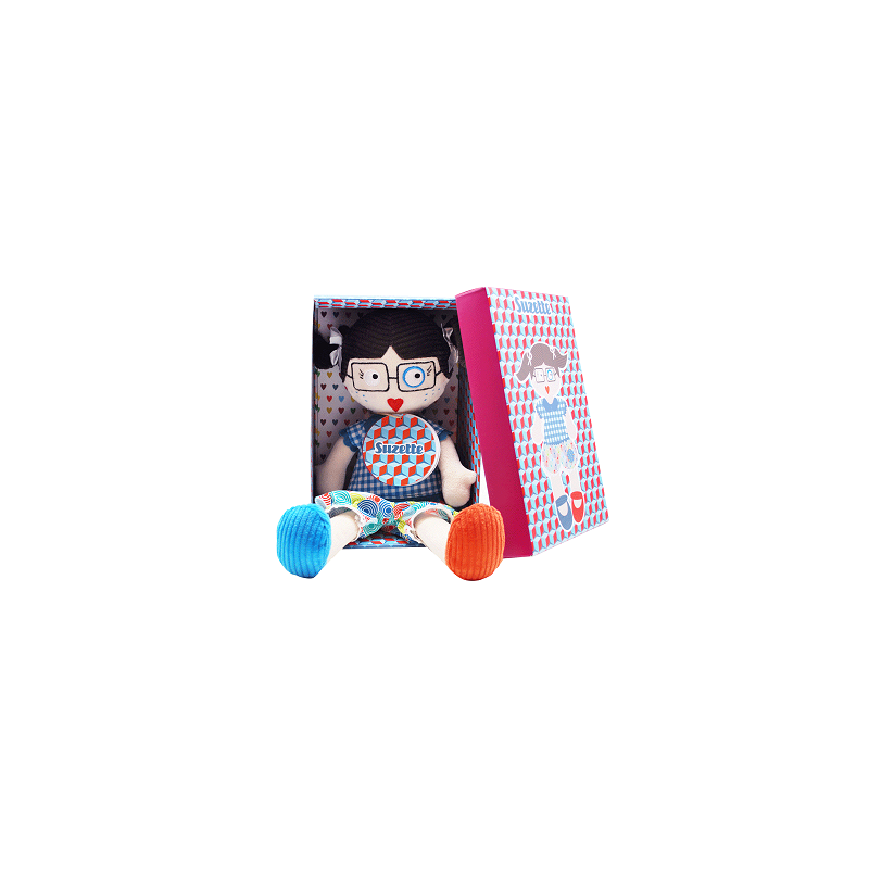 Plüssbaba 34 cm - Suzette-Katica Online Piac