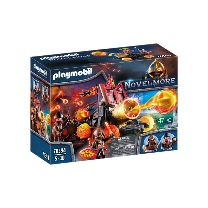 Burnham láva katapultja Playmobil70394-Katica Online Piac
