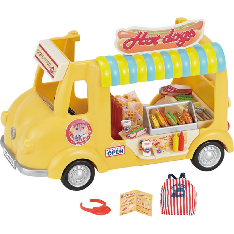 Hot-dogos kocsi Sylvanian Families-Katica Online Piac