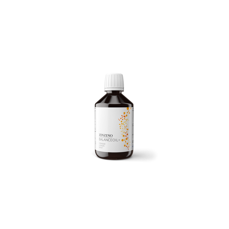 Zinzino BalanceOil + Orange Lemon Mint Halolaj folyékony 300 ml-Katica Online Piac
