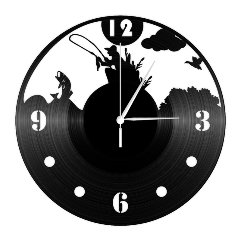 Bakelit óra - nagy hohoho horgász-Katica Online Piac
